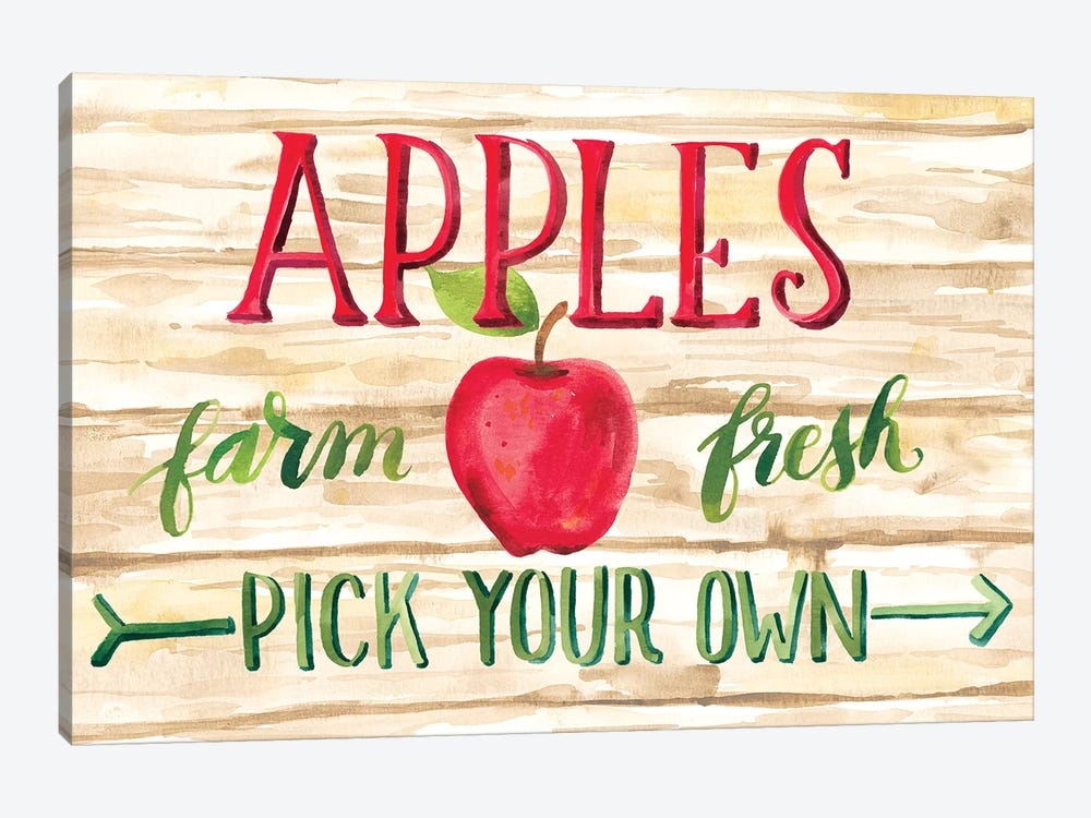 Apple Harvest I by Amanda Mcgee 1-piece Canvas Artwork