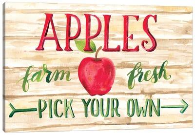 Apple Harvest I Canvas Art Print
