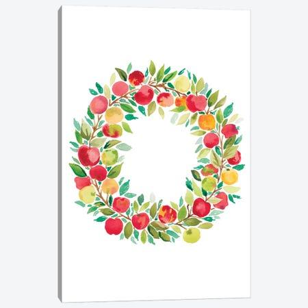 Apple Harvest IV Canvas Print #AMG16} by Amanda Mcgee Art Print