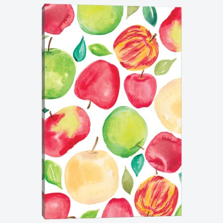 Apple Harvest V Canvas Print #AMG17} by Amanda Mcgee Canvas Art Print