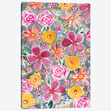 Lush Garden I Canvas Print #AMG22} by Amanda Mcgee Canvas Art Print