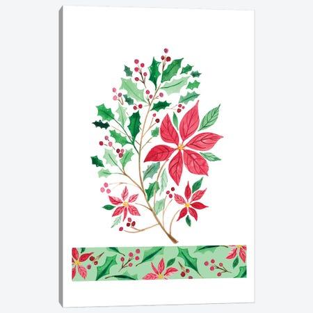 Christmas Berries I Canvas Print #AMG27} by Amanda Mcgee Canvas Art