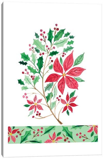 Christmas Berries I Canvas Art Print