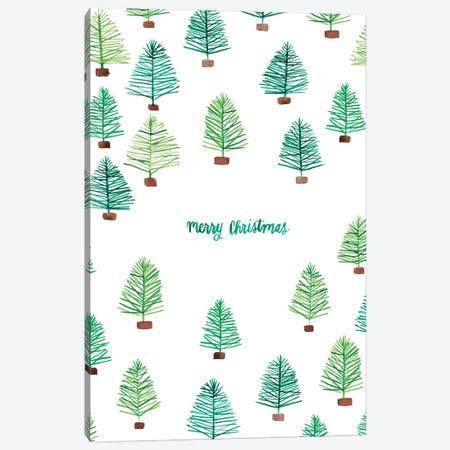 Oh Christmas Tree III Canvas Print #AMG32} by Amanda Mcgee Canvas Art