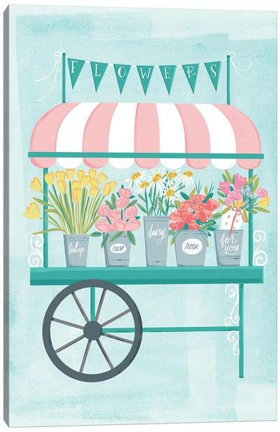 Flower Market III Canvas Art Print
