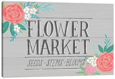 Flower Market IV Canvas Art Print
