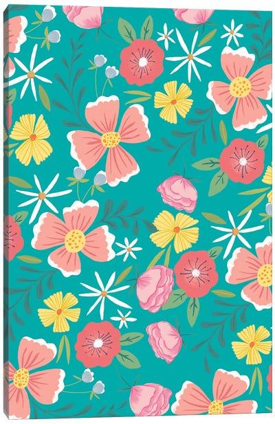 Flower Market V Canvas Art Print