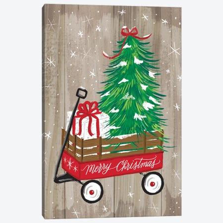 Christmas Farm II Canvas Print #AMG4} by Amanda Mcgee Canvas Print