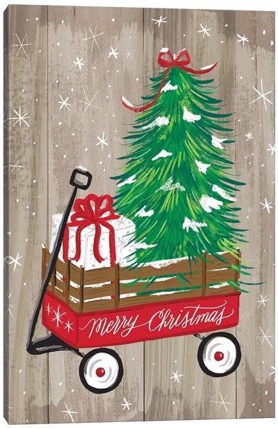 Christmas Farm II Canvas Art Print
