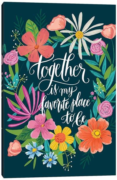 Floral Radiance I Canvas Art Print