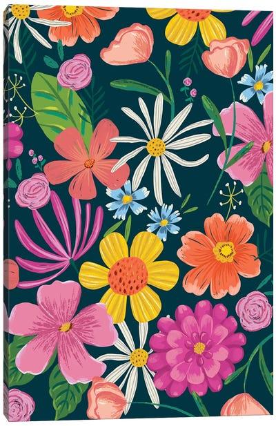 Floral Radiance II Canvas Art Print