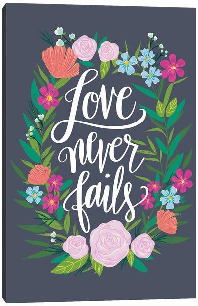 Floral Radiance III Canvas Art Print