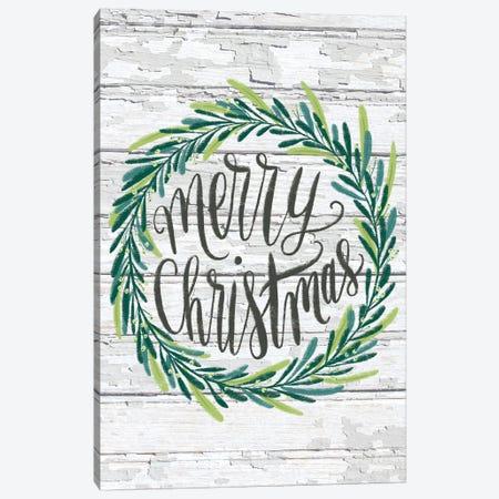 Christmas Greenery I Canvas Print #AMG66} by Amanda Mcgee Canvas Artwork