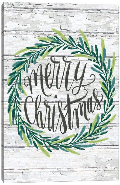 Christmas Greenery I Canvas Art Print