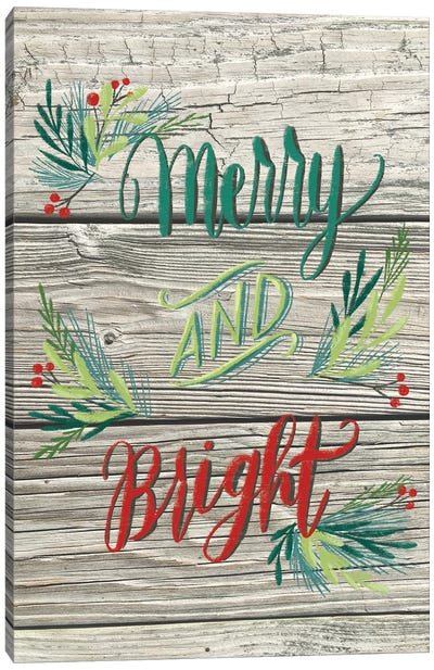 Christmas Greenery II Canvas Art Print