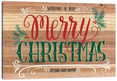 Christmas Greenery III Canvas Art Print