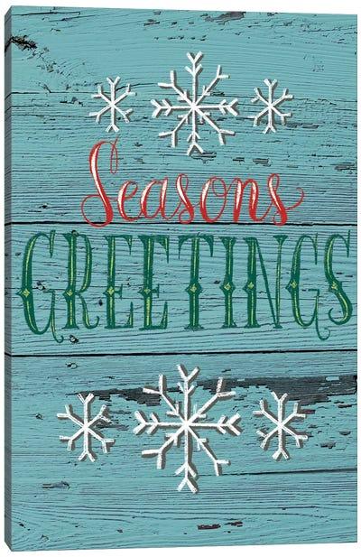 Christmas Greenery IV Canvas Art Print