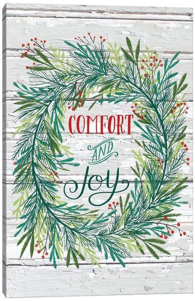 Christmas Greenery V Canvas Art Print