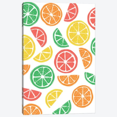 Summer Fruits I Canvas Print #AMG71} by Amanda Mcgee Canvas Art