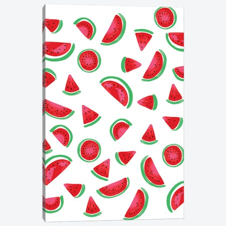 Summer Fruits II Canvas Print #AMG72} by Amanda Mcgee Canvas Wall Art
