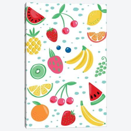 Summer Fruits III Canvas Print #AMG73} by Amanda Mcgee Canvas Wall Art