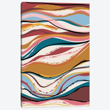 Vintage Vibes II Canvas Print #AMG87} by Amanda Mcgee Canvas Artwork