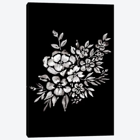 Ink Florals II Canvas Print #AMG91} by Amanda Mcgee Canvas Art