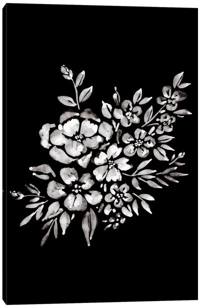 Ink Florals II Canvas Art Print