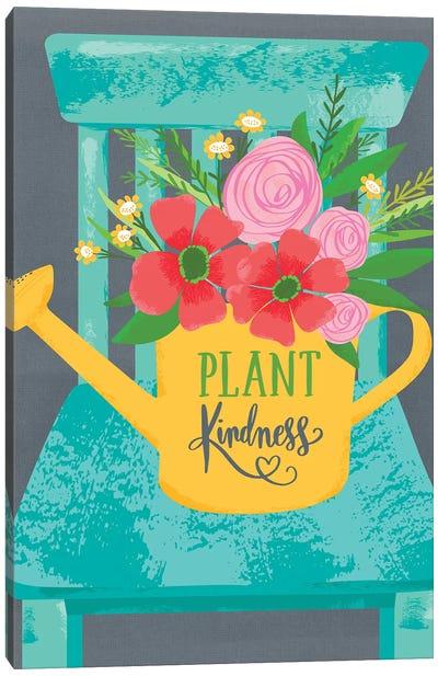 Farmhouse Garden Canvas Art Print