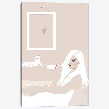 Bloodbath Canvas Print #AMK11} by Anna Mckay Canvas Artwork