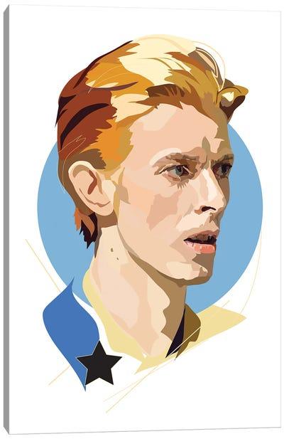Bowie Starman Canvas Art Print