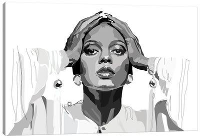 Diana Ross Canvas Art Print