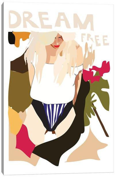 Dream Free Canvas Art Print