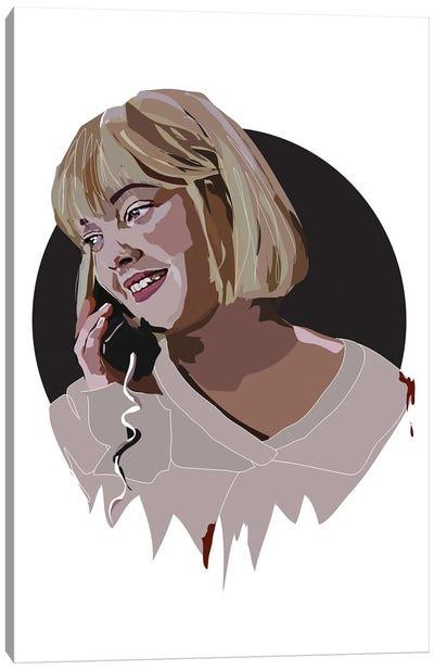 Drew Barrymore Scream Canvas Art Print