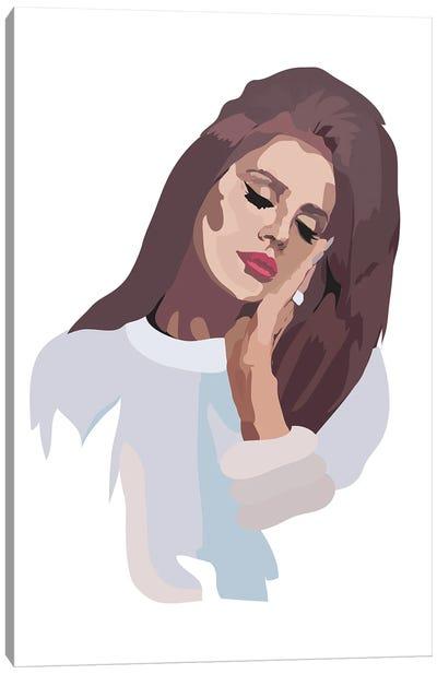 60s Lana Del Rey Canvas Art Print