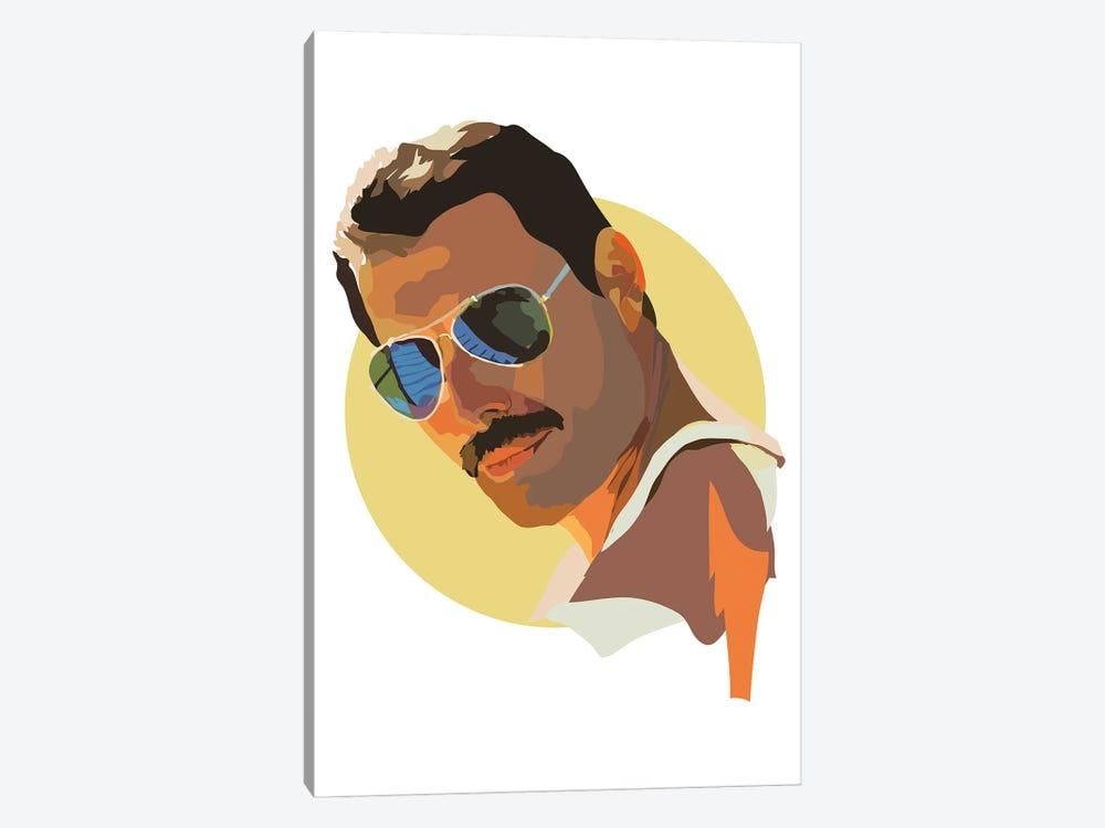 Freddie Mercury by Anna Mckay 1-piece Canvas Artwork