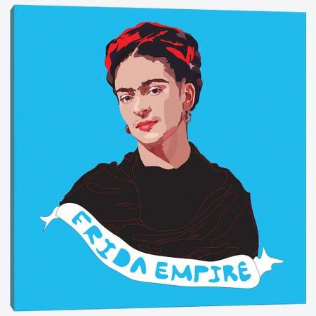 Frida Empire Canvas Print #AMK27} by Anna Mckay Canvas Wall Art
