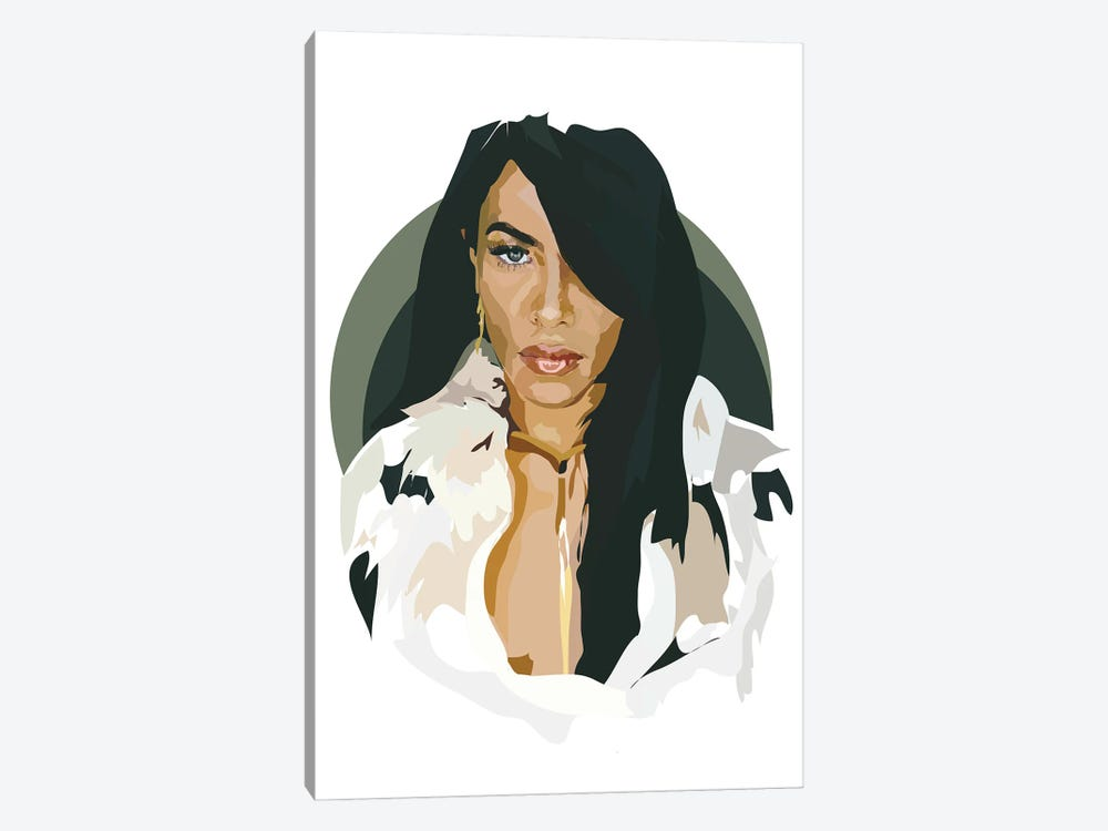 Aaliyah by Anna Mckay 1-piece Canvas Print