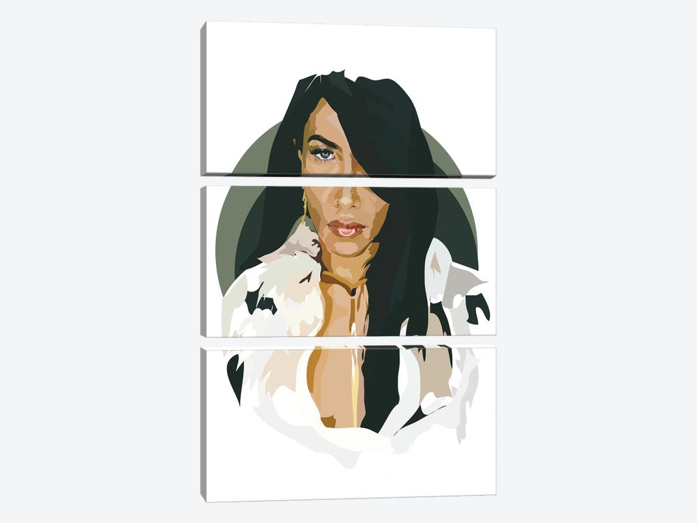 Aaliyah by Anna Mckay 3-piece Art Print