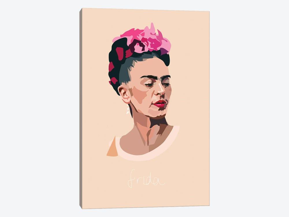 Frida Kahlo Artist by Anna Mckay 1-piece Canvas Art Print