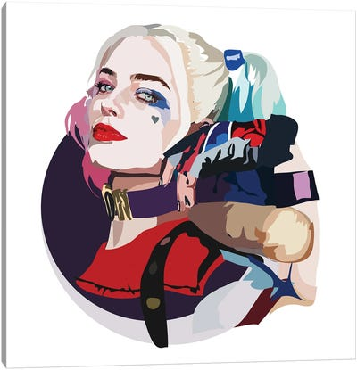 Harley Quinn Canvas Art Print