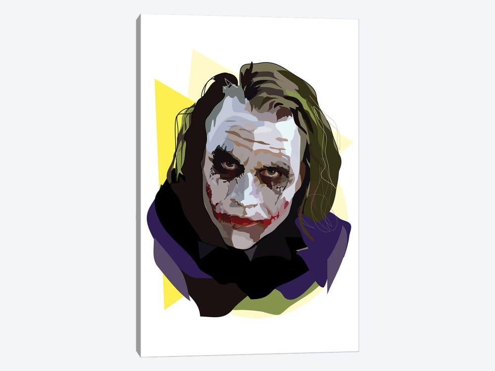 Heath Ledger Joker by Anna Mckay 1-piece Canvas Print