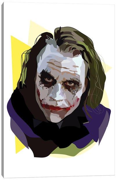 Heath Ledger Joker Canvas Art Print