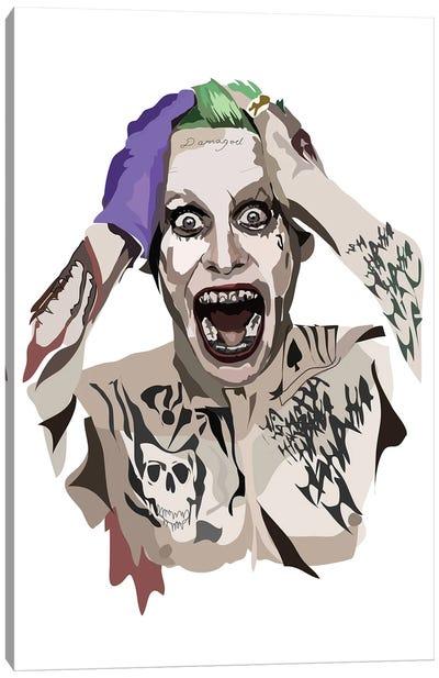Jared Leto Joker Canvas Art Print