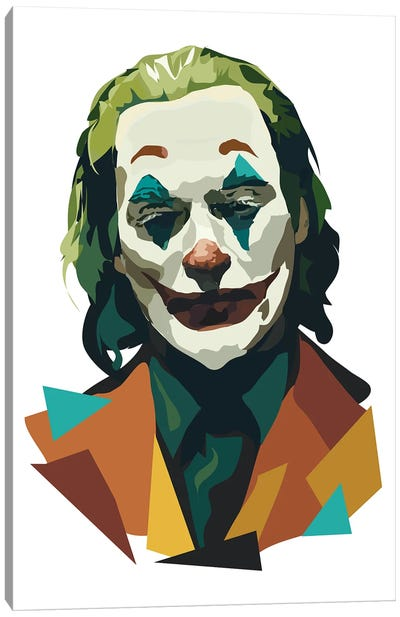 Joaquin Phoenix Joker Canvas Art Print