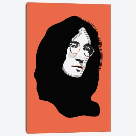John Lennon Canvas Print #AMK39} by Anna Mckay Canvas Art