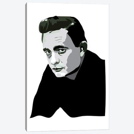 Johnny Cash Canvas Print #AMK40} by Anna Mckay Canvas Print