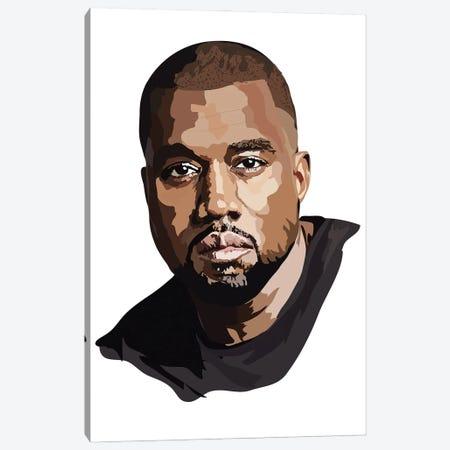 Kanye West Canvas Print #AMK41} by Anna Mckay Canvas Art Print
