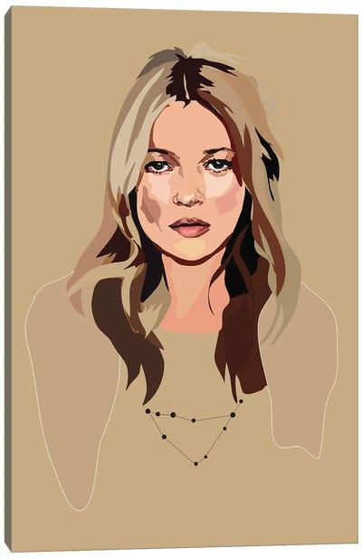 Kate Moss Canvas Art Print