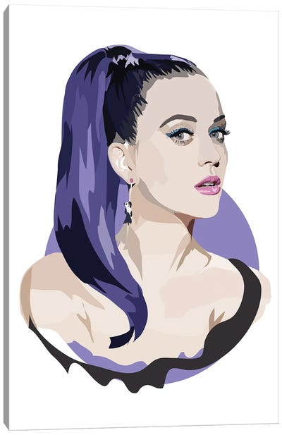 Katy Perry Canvas Art Print